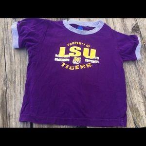 NCAA. Lsu kids t shirt
